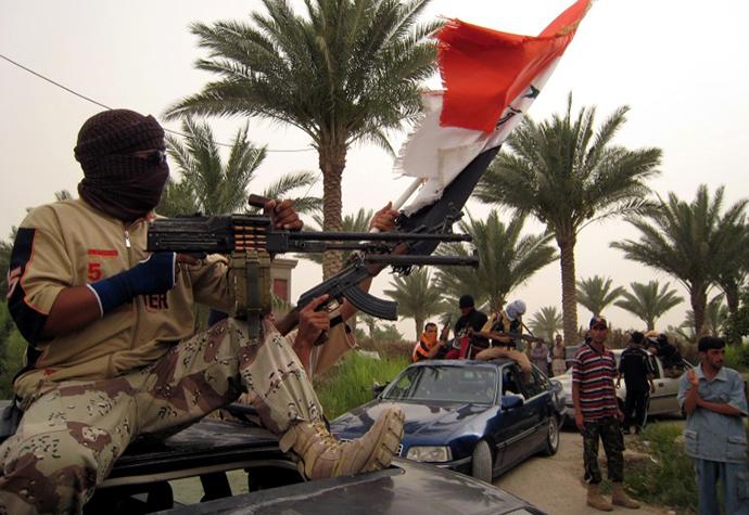 Sunni militiamen (AFP Photo / Ibrahim Mohammed)