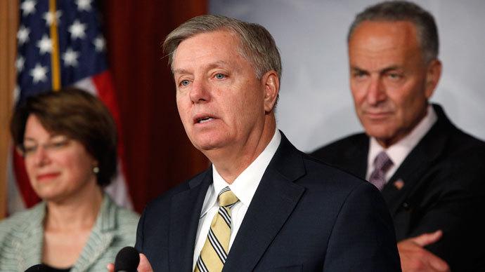 U.S. Senator Lindsey Graham.(Reuters / Jonathan Ernst)