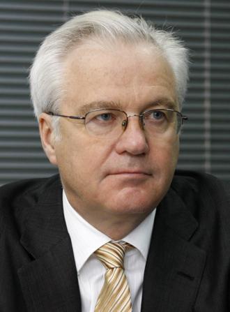 Russian UN Ambassador Vitaly Churkin (RIA Novosti / Ruslan Krivobok)