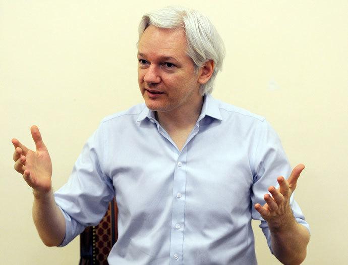Wikileaks founder Julian Assange.(AFP Photo / Anthony Devlin)