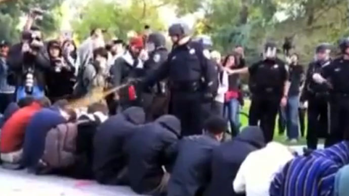 'Pepper spray cop' hoping for 'psychiatric' compensation