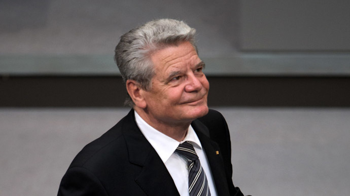 German President Joachim Gauck (AFP Photo)