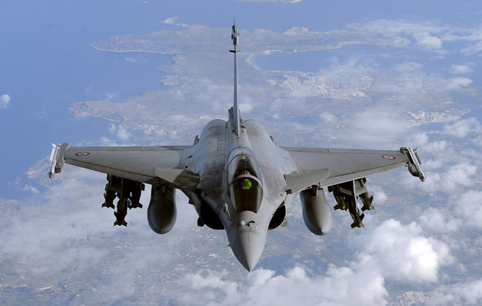 A French Rafale fighter jet (AFP Photo)