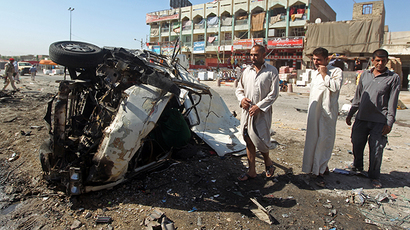Around 80 killed, 200 wounded in string of bombings in Iraq