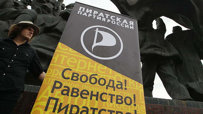 Russian Pirate Party threatens copyright owners with 'Black August'