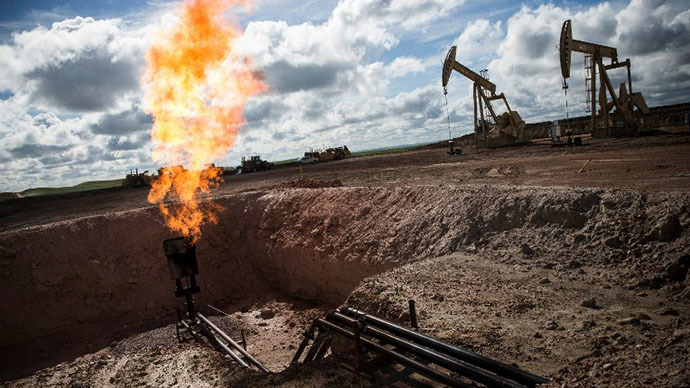 The Crude Truth American Drillers Burn 100 Million Worth