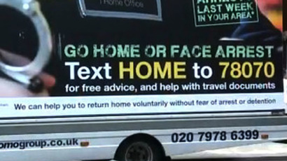 'Racist slogans': UK watchdog to investigate 'go home' anti-immigrant campaign