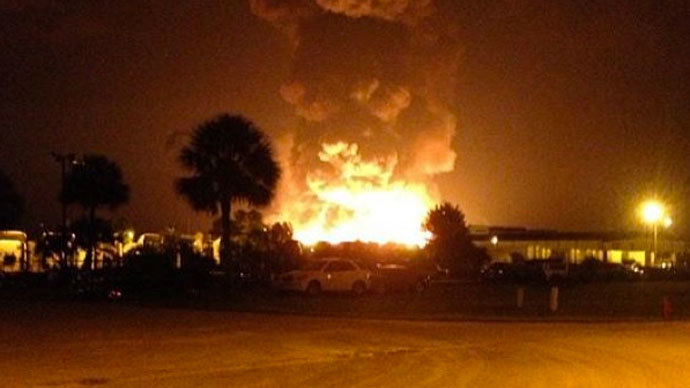 Massive explosions rock Florida propane plant (PHOTOS, VIDEO)