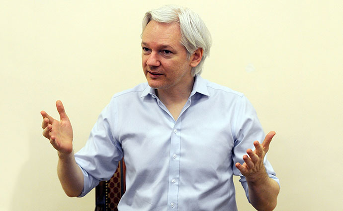 Wikileaks founder Julian Assange (AFP Photo / Anthony Devlin)