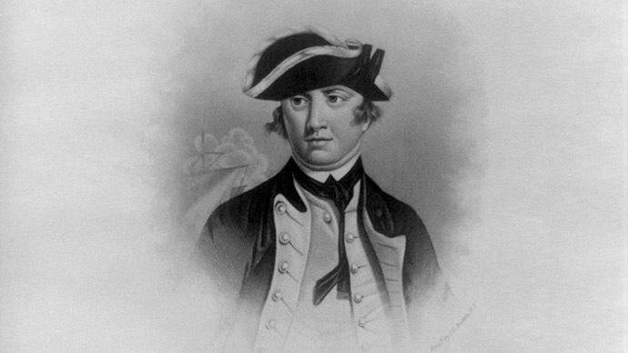 Continental Navy commander-in-chief Esek Hopkins