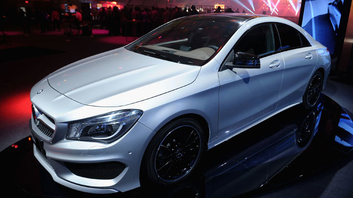 New Mercedes model sells out in Russia