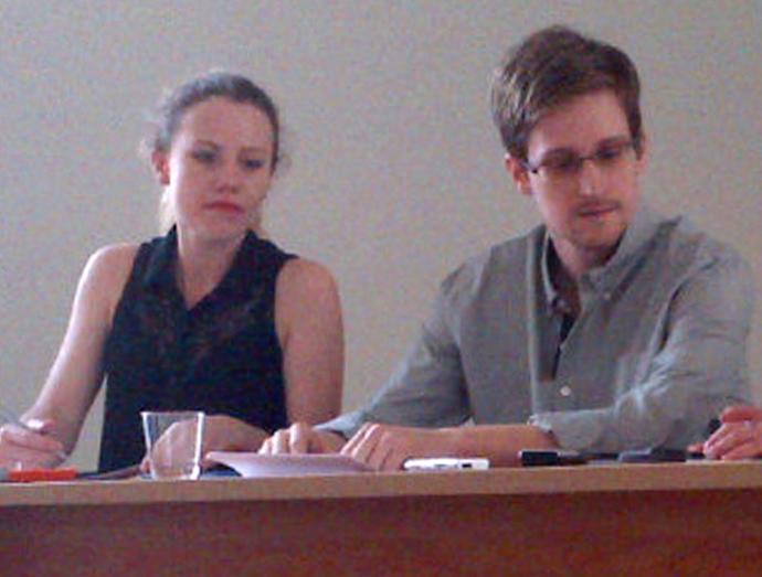 Edward Snowden (Tanya Lokshina / Human Rights Watch)