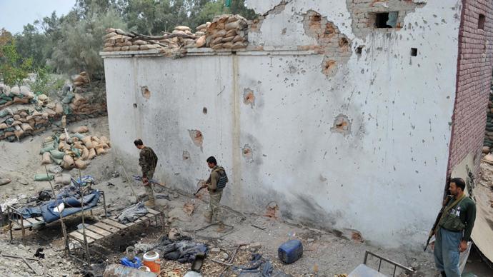 US airstrike 'accidentally kills' 5 Afghan police