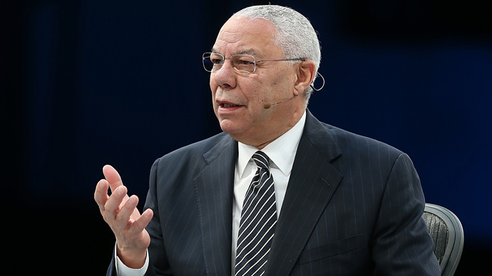 Colin Powell denies allegations of an affair following email hacks by 'Guccifer'