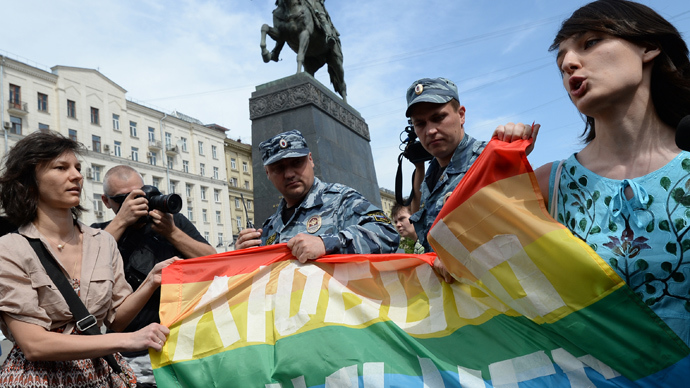 Russia's 'gay propaganda' law causes outrage abroad but finds support at home