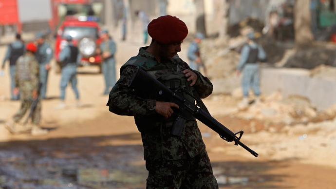 Almost 100 dead in Afghan firefight