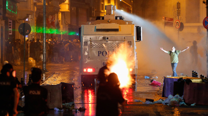 Protesters clash with police across Turkey as thousands mourn 15yo teen death