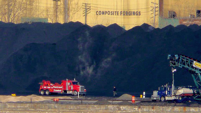 Toxic cloud of tar sands waste travels from Detroit to Canada