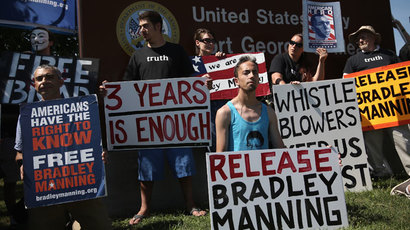 Bradley Manning Nobel Peace Prize nod backed by 100k petition-signers