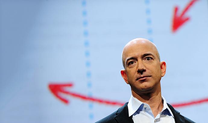 Amazon CEO Jeff Bezos (AFP Photo / Emmanuel Dunand)