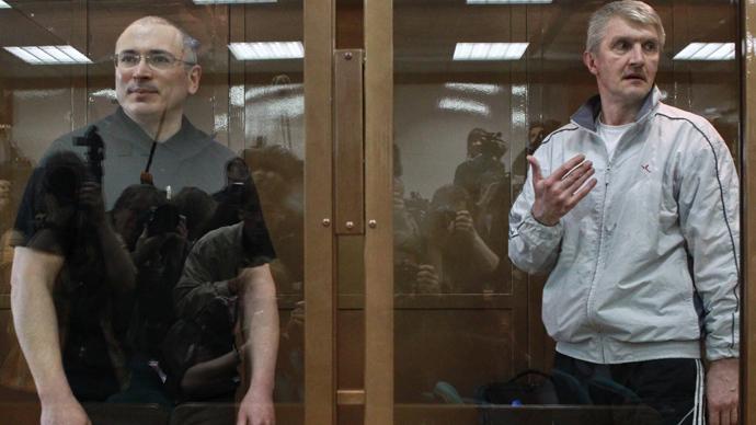 Khodorkovsky, partner's appeal rejected, but sentence shortened by 2 months
