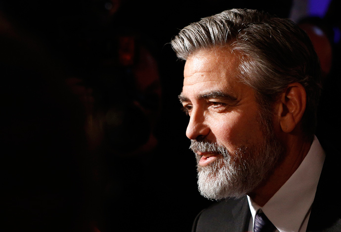 U.S. actor George Clooney has been outspoken against Loeb's grab for the Sony entertainment division. (Reuters / Lisi Niesner)