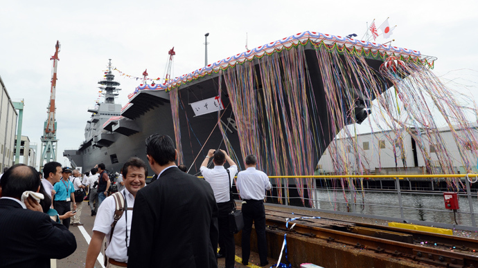 Japan's biggest warship since WW2 stirs China tensions