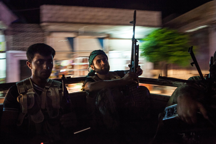 Syrian rebels (AFP Photo / Daniel Leal-Olivas)