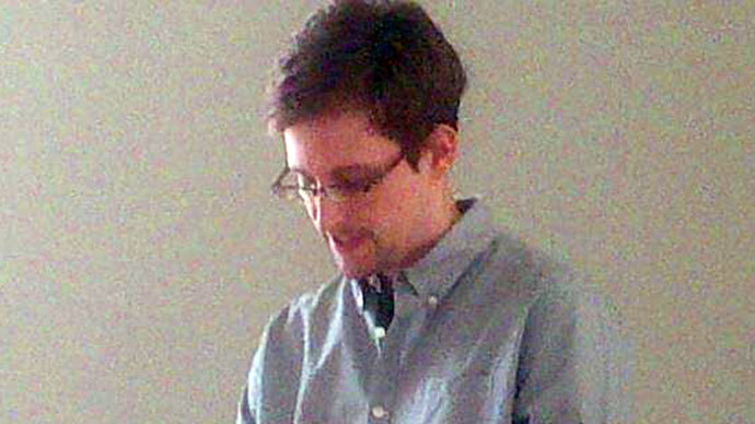 Edward Snowden.(AFP Photo / Tanya Lokshina)