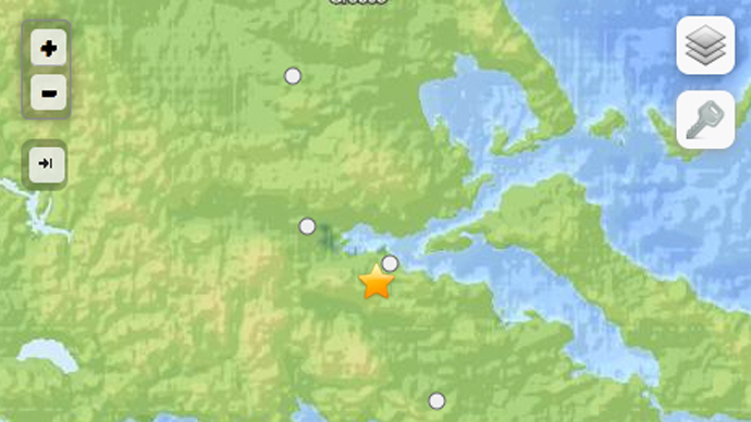 5.1 earthquake strikes southern Greece, jolts 'felt' in Athens