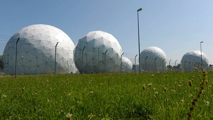 Radomes stand on the former monitoring base of the U.S. intelligence organization National Security Agency (NSA) in Bad Aibling, near Rosenheim, southern Germany (AFP Photo / Christof Striache)