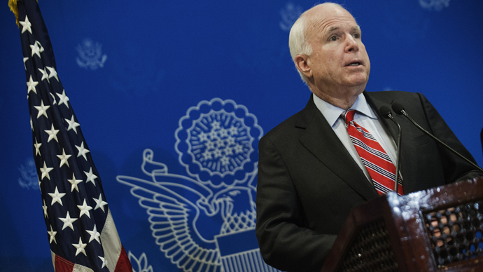 US Republican Senator John McCain (AFP Photo / Gianluigi Guercia)
