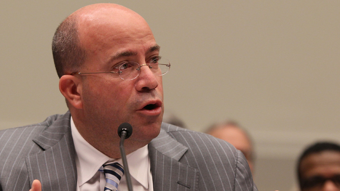 Jeff Zucker, president and CEO of NBC Universal (AFP Photo)