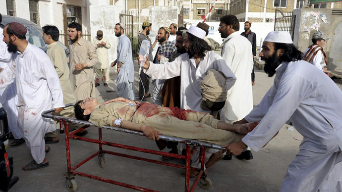 10 killed as gunmen shoot at people leaving mosque in Pakistan