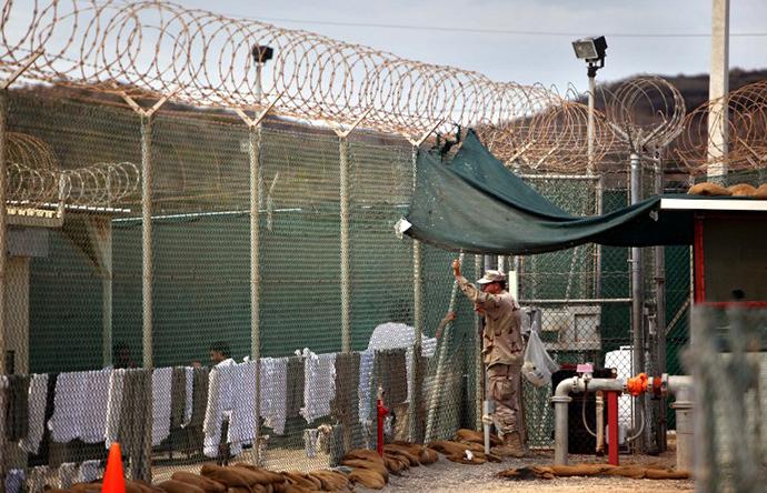 The US Naval Base, in Guantanamo Bay, Cuba (AFP Photo / Brennan Linsley)