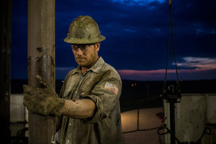 North Dakota has been experiencing an oil boom in recent years, due in part to new drilling techniques including hydraulic fracturing and horizontal drilling. (AFP Photo / Andrew Burton)