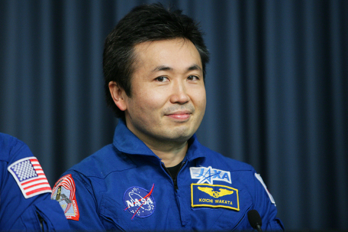 International Space Station engineer Koichi Wakata (AFP Photo)