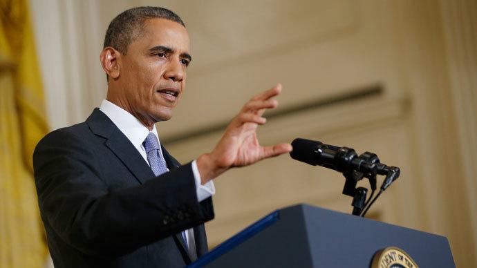 U.S. President Barack Obama.(Reuters / Jason Reed)