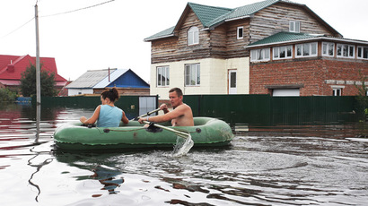 Russia's Far East hit by biggest floods in 120 years