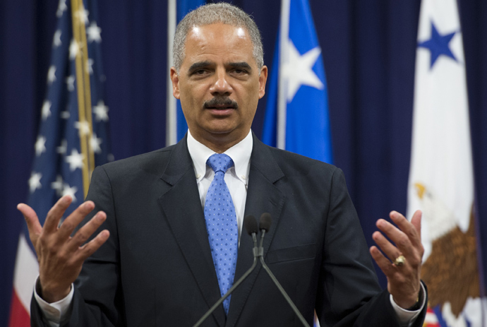 Attorney General Eric Holder (AFP Photo / Saul Loeb)