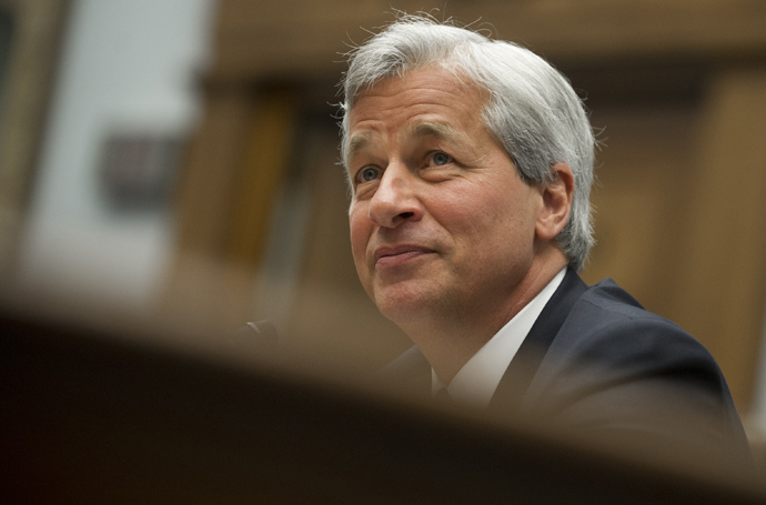 JPMorgan Chase Chairman and CEO Jamie Dimon (AFP Photo / Saul Loeb)