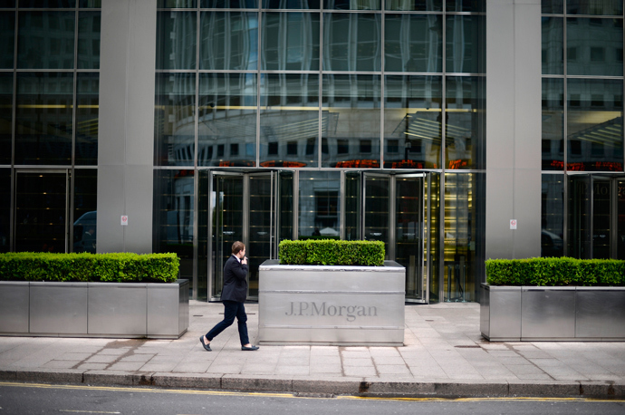 JPMorgan headquarters in London. Reuters / Dylan Martinez