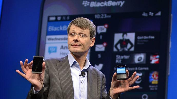 BlackBerry blues: Onetime smartphone champ mulls sale