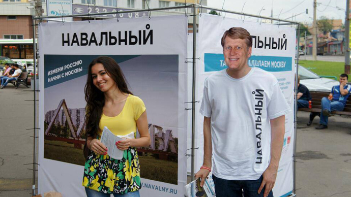 US ambassador puzzled after finding his image on Navalny campaign poster