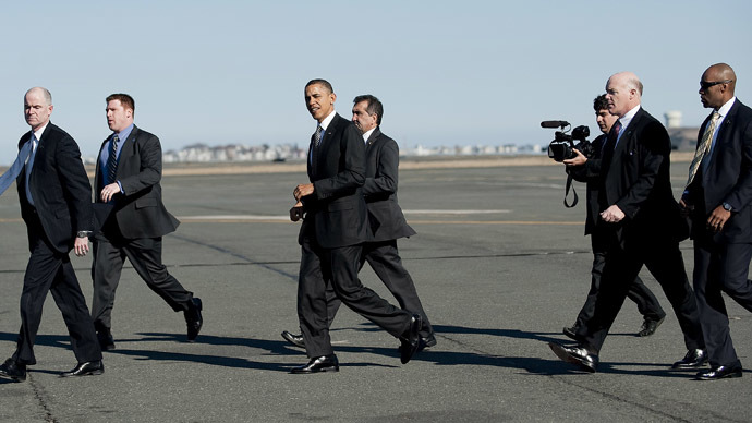 White House rejects idea of 'gun-free zone' around Obama