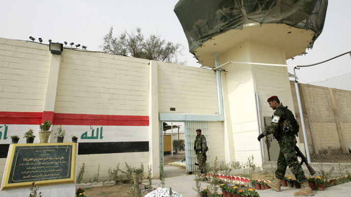 Abu Ghraib contractor, accused of human rights abuses, sues former prisoners