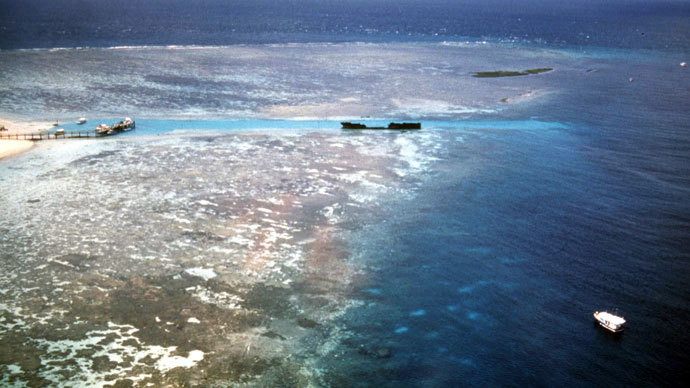 Australian Navy locates bombs dumped by US onto Great Barrier Reef