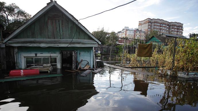 Russia's Far East prepares for flood peak
