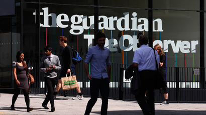 Guardian editor on Miranda detention: 'Terror and journalism being aligned'