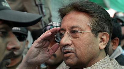Pakistani ex-President Musharraf charged with high treason